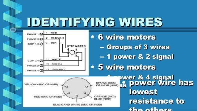 6 wire ac motor wiring