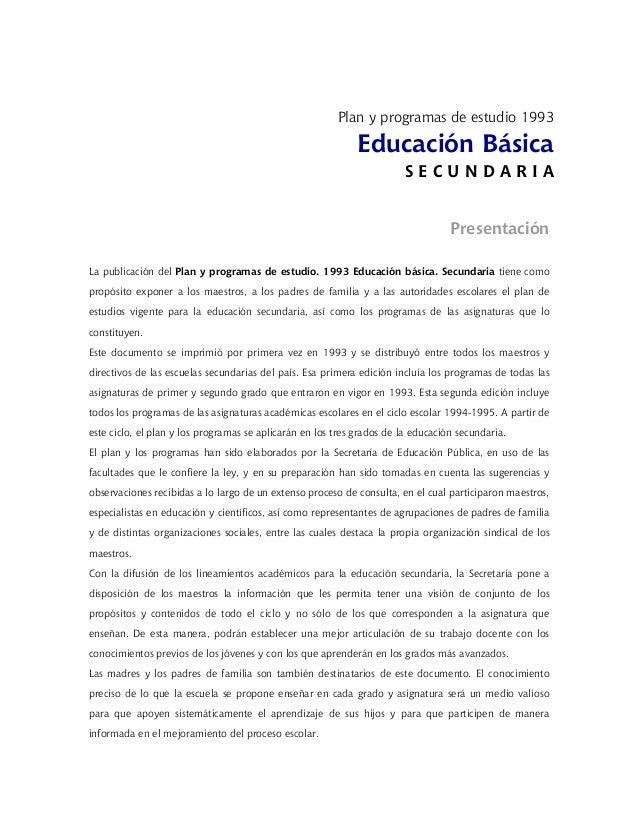 Plan de-estudios-secundaria-1993