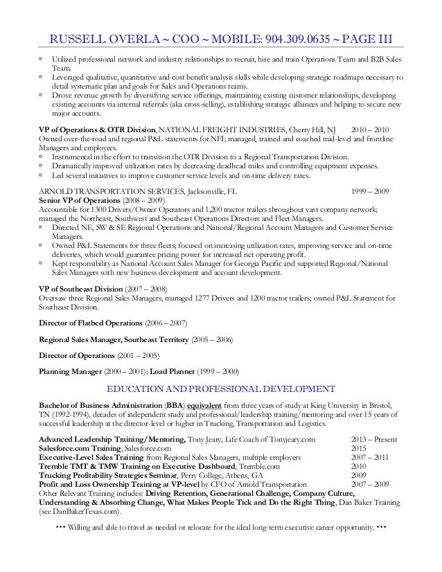 Marketing And Internship Coordinator Resume Samples. Coo Resume