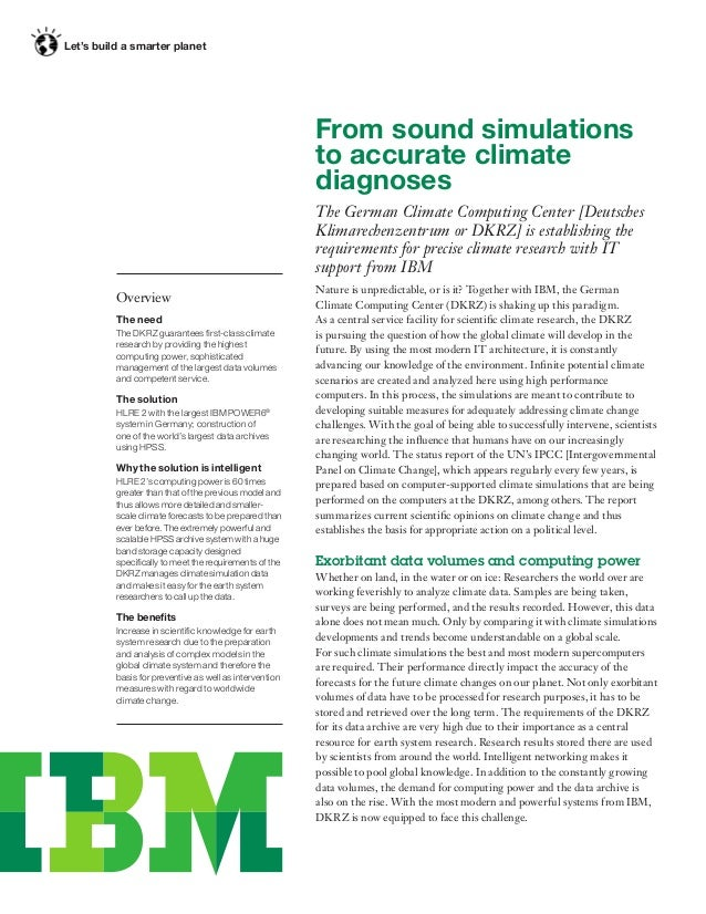Let's build a smarter planet                                                         From sound simulations               ...