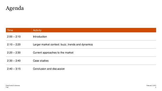 Data-centric market status, case studies and outlook Slide 2