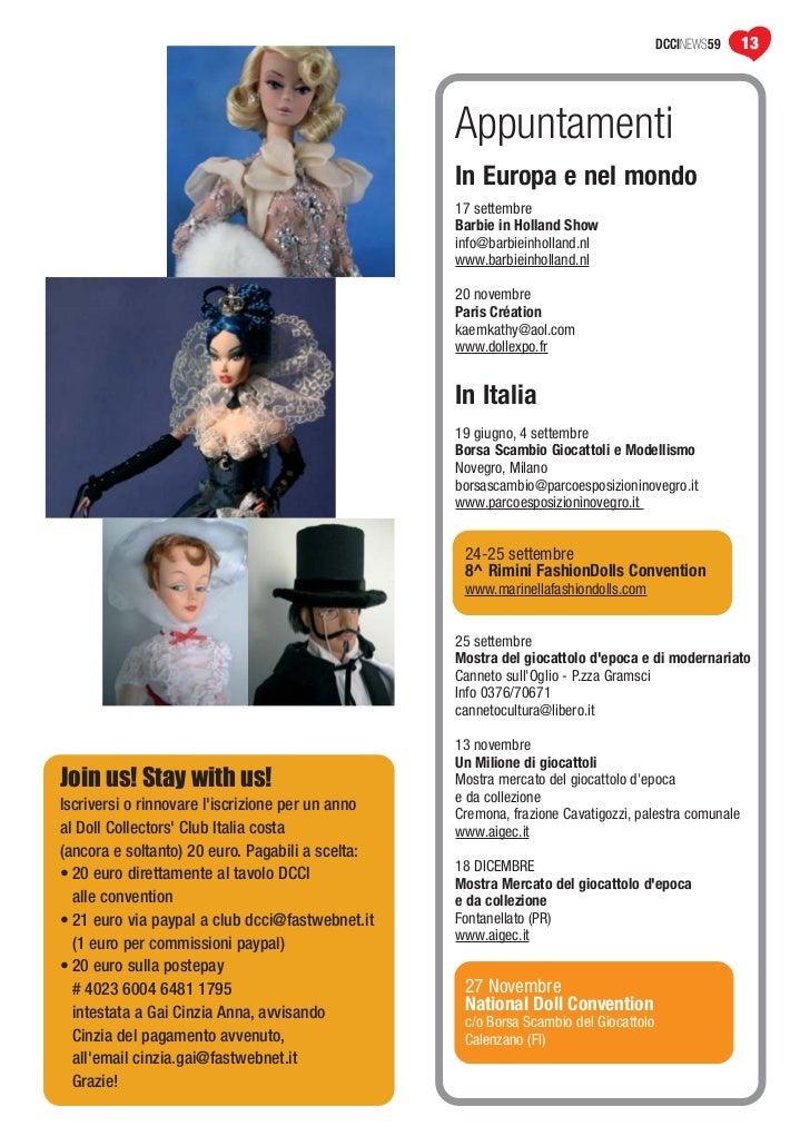 Doll news 59 maggio 2011 - Barbie colorazione pagine libero ...