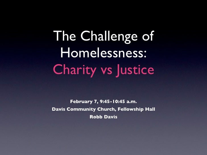 justice vs charity Gena thomas shares with us what it looks like to do short term missions from a standpoint of charity or a standpoint of justice she shares the pitfalls of charity.