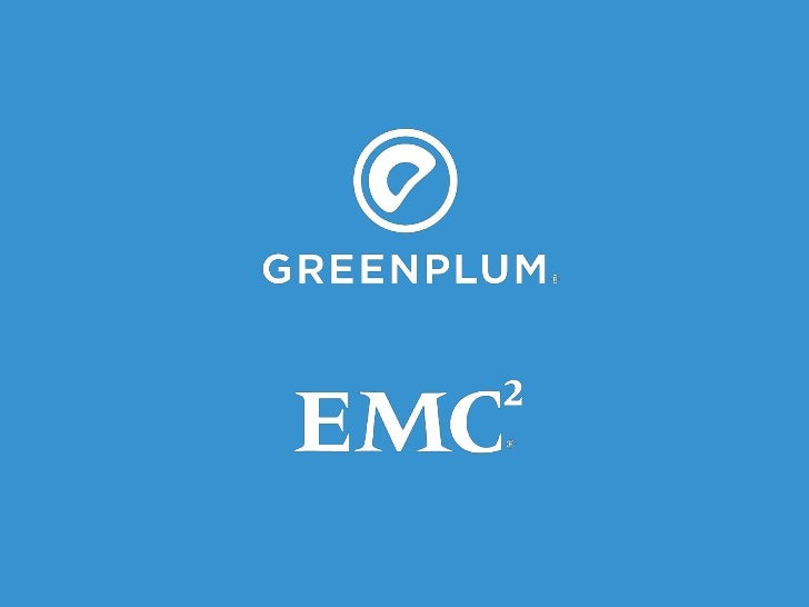 Greenplum Database Overview