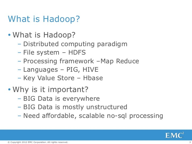 Greenplum Analytics Workbench - What Can a Private Hadoop Cloud Do For You?   Slide 3