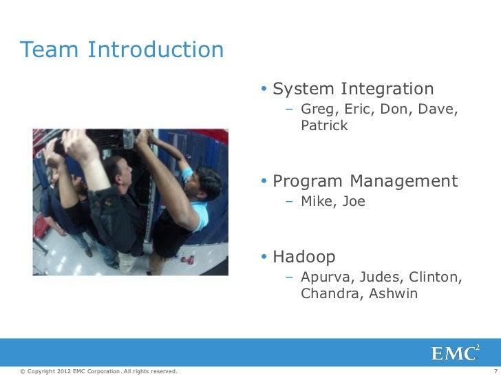 Team Introduction                                                          System Integration                            ...