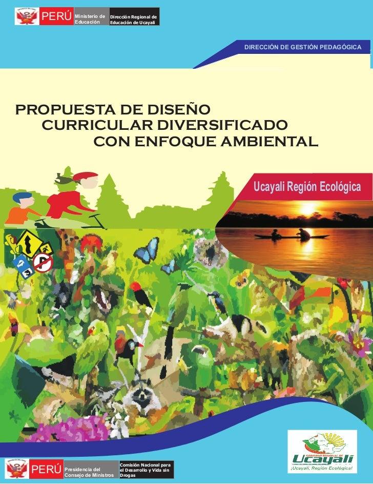PERÚ Ministerio de         Educación                         Dirección Regional de                         Educación de Uc...