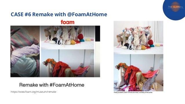 CASE #6 Remake with @FoamAtHome https://www.foam.org/museum/remake