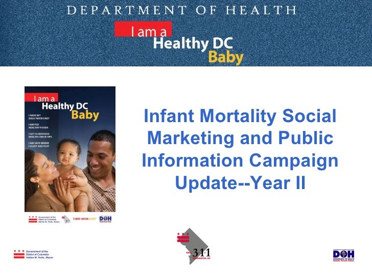Infant Mortality Social Marketing and Public Information Campaign Update--Year II