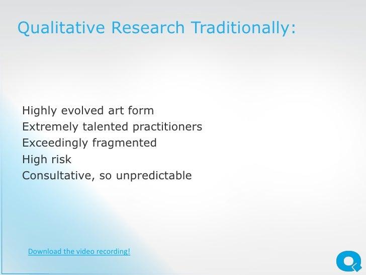 How To Quantify Qualitative Research