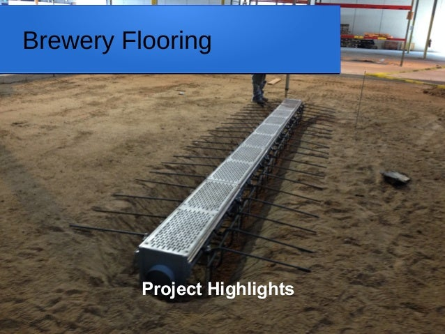 Brewery Flooring Project Highlights