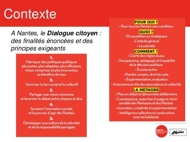 Dialogue citoyen - point d'étape - Avril 2016 - Nantes Slide 3