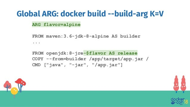 docker build build-arg