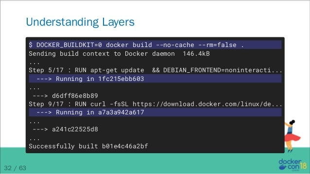 docker build no cache