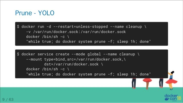 DCEU 18: Tips and Tricks of the Docker Captains