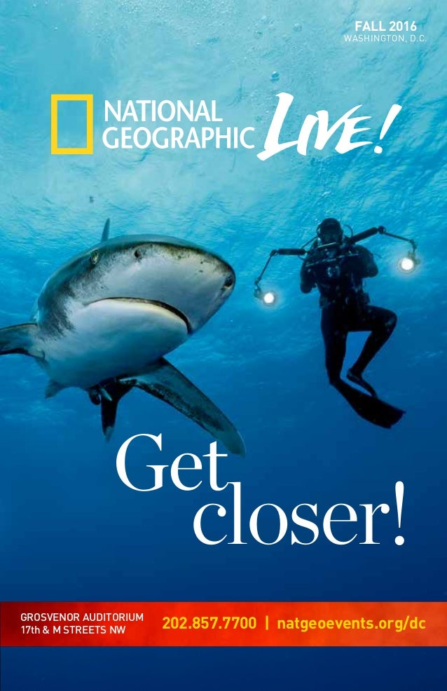 1471c716565d National Geographic Live Fall 2016 Season Brochure