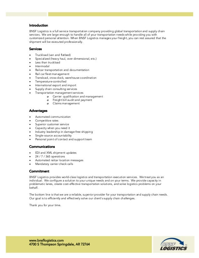 BNSF Logistics Snapshot C PDF