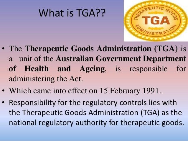 Regulatory guidelines of Australia