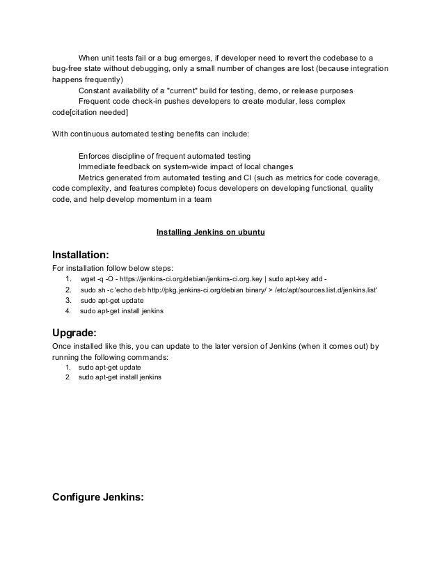 JenkinsCIdocumentations-removedcredentials.docx Slide 2