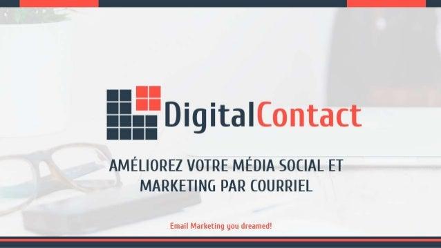 Améliorez Votre Média Social et Marketing par Courriel