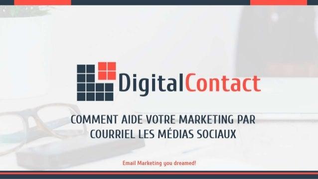 Comment Aide Votre Marketing Par Courriel Les Médias Sociaux