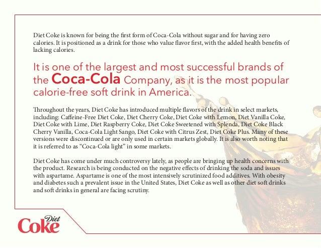 Diet coke calories
