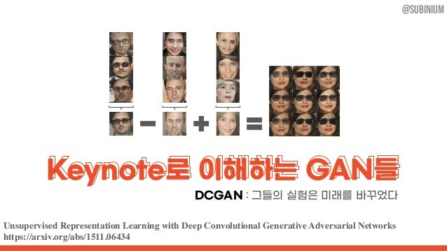 Unsupervised Representation Learning with Deep Convolutional Generative Adversarial Networks https://arxiv.org/abs/1511.06...