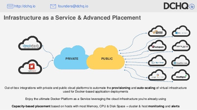 Out-of-box integrations with private and public cloud platforms to automate the provisioning and auto-scaling of virtual i...