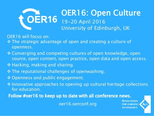 Digital Cultural Heritage and Open Education