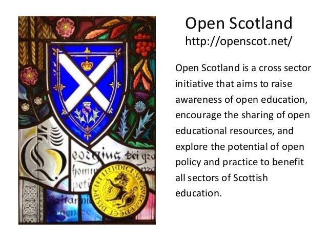 Open education encompasses • Open education practice • Open assessment practices, e.g. open badges. • Open educational res...