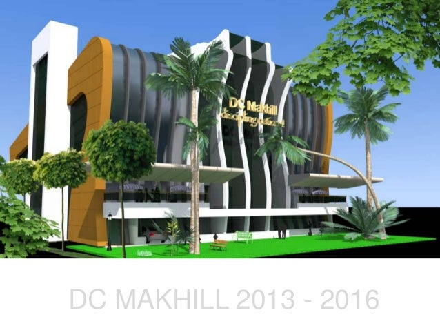 Dc Makhill Photographic Impression Building