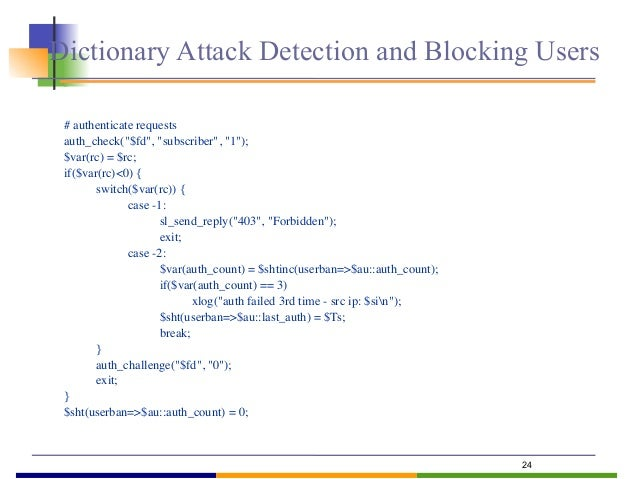 25  Problem  an attacker could eventually get access in way or another (e.g., social engineering), then limit the damage...