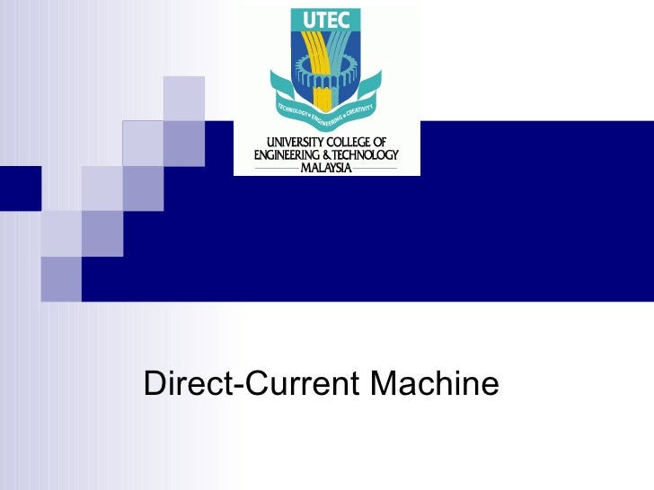 Direct-Current Machine