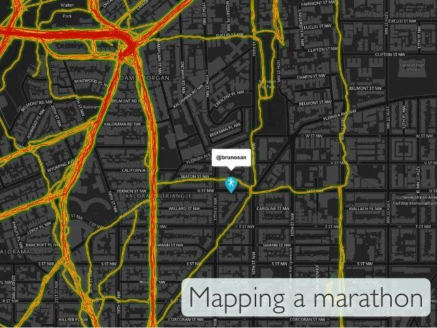 Mapping a marathon