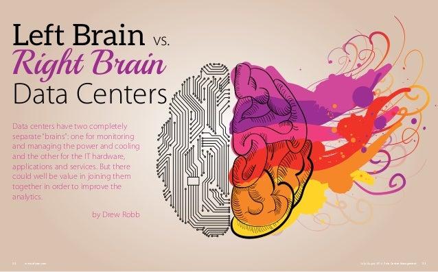 DCM: Left Brain vs. Right Brain Data Centers Slide 2