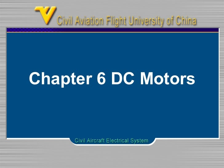 Chapter 6 DC Motors
