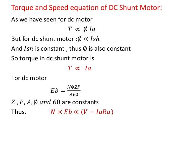 How to calculate rpm of dc motor for Measure torque of a motor