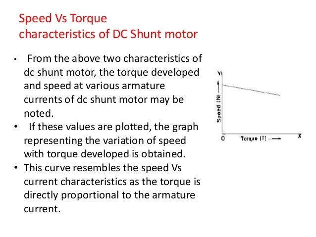 Dc motor 23 speed vs torque characteristics of dc shunt motor sciox Images