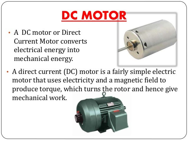 Dc motors and its types for Types of dc motor