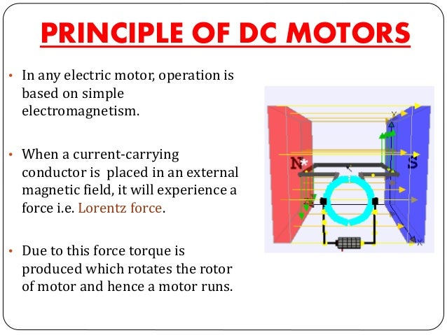 Dc Motors And Its Types