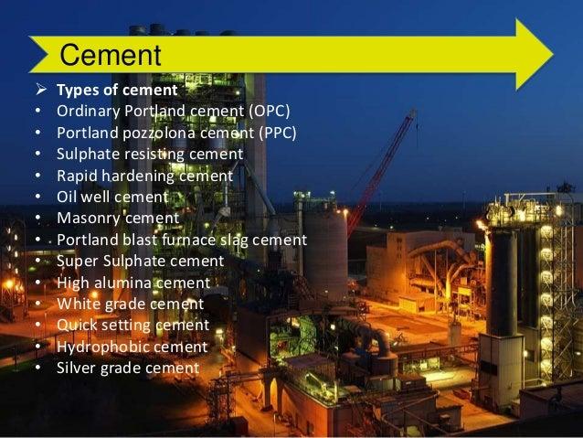 Portland Blast Furnace Cement : Cement manufacturing process
