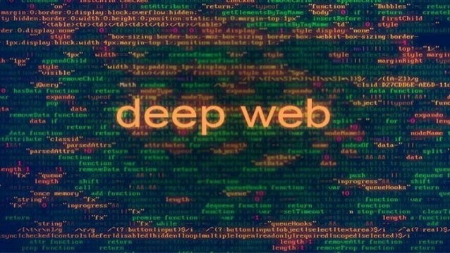 What is Deep Web? • The part of the World Wide Web that is not discoverable by means of standard search engines is referre...