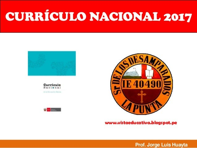 Dcn minedu for Diseno curricular nacional 2016 pdf