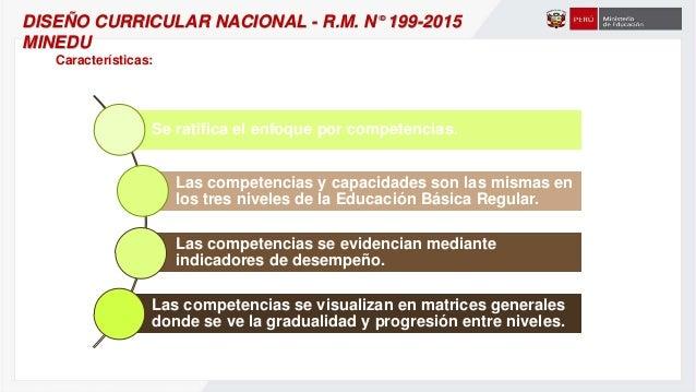 DISEÑO CURRICULAR NACIONAL - MODIFICACIÓN.