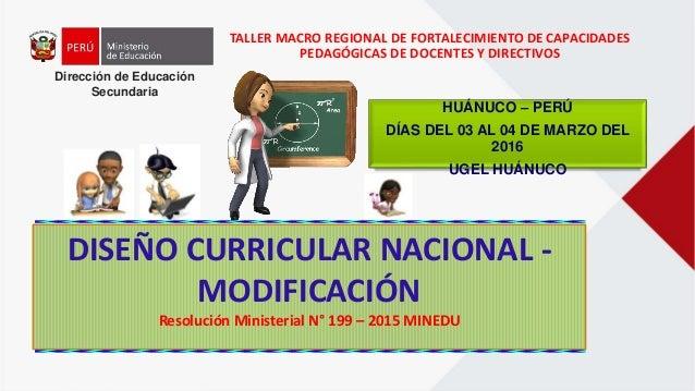 Dise o curricular modificado per 2015 for Diseno curricular nacional 2016 pdf