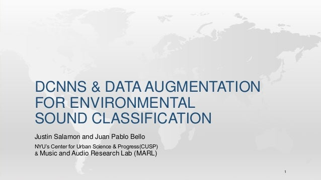 Dcnn & data augmentation for environmental sound classification