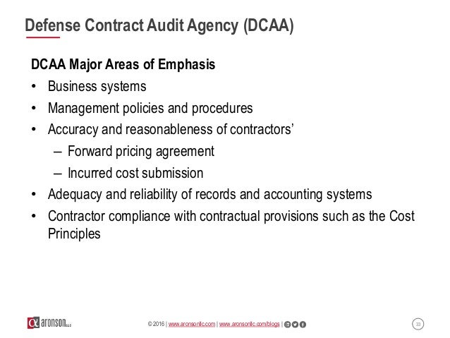Accounting For Federal Contractors