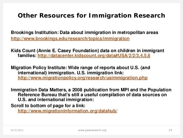 Brookings Topics  Immigration
