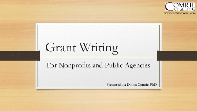 grant writing for non profits