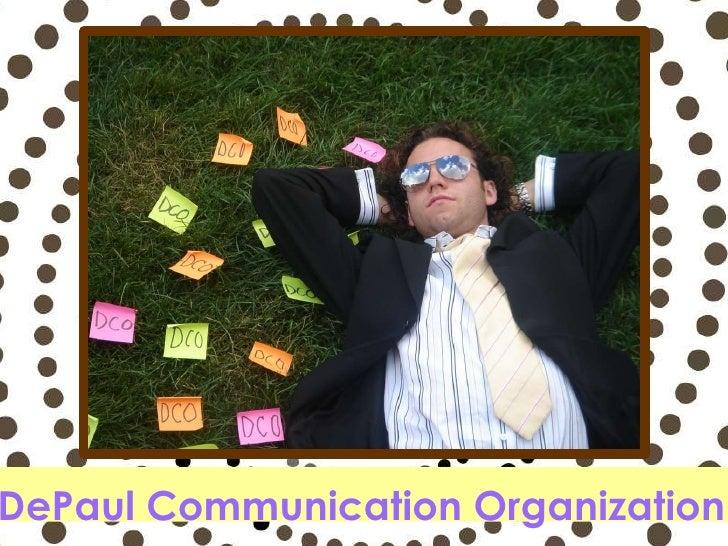 DePaul Communication Organization